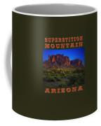 Superstition Mountain Sunset Coffee Mug