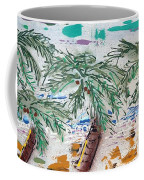 Surf And Palms Coffee Mug