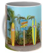 Surf Boards At Ron Jon's Coffee Mug