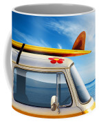 Surf Van Coffee Mug by Carlos Caetano
