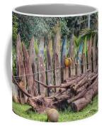 Surfboard Fence Hawaii Coffee Mug