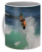 Surfer Action Hawaii Coffee Mug