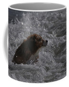 Surfer Dog 1 Coffee Mug