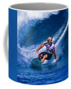 Surfer Dude Catching A Wave Coffee Mug