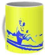 Surfer Girl 1940s Coffee Mug