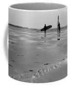 Surfer Silhouettes Coffee Mug