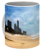 Surfers Paradise On A Stormy Day Coffee Mug