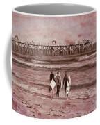 Surfers Three Coffee Mug