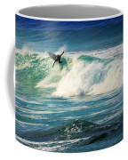 Surfing Asilomar Two Coffee Mug