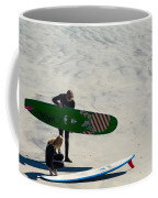 Surfing Couple Coffee Mug