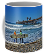 Surfing Today Coffee Mug