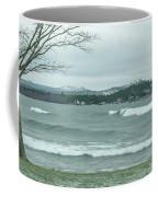 Surfing Waves Coffee Mug