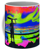 Surfscape Dreaming Coffee Mug