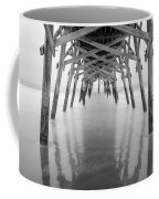 Surfside Pier Exposure Coffee Mug
