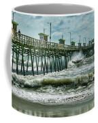 Surge Under The Pier Coffee Mug