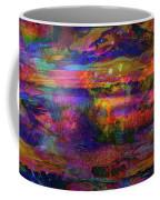 Surreal Angry Cloud Coffee Mug