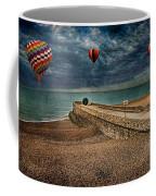 Surreal Beach Coffee Mug