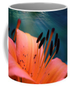Surreal Orange Lily Coffee Mug