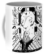 Surrealism Oil Pump Coffee Mug