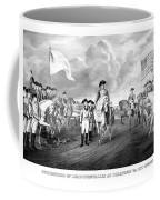 Surrender Of Lord Cornwallis At Yorktown Coffee Mug