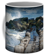 Surrounded By The Ocean - Jersey Shore Coffee Mug