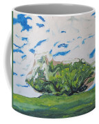 Surrounded With Clouds Coffee Mug