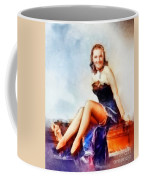 Susanna Foster, Vintage Hollywood Actress Coffee Mug