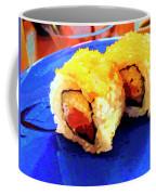 Sushi Plate 3 Coffee Mug