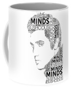 Suspicious Minds Elvis Wordart Coffee Mug