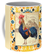 Suzani Rooster 1 Coffee Mug
