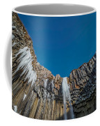 Svartifoss Waterfall, Iceland Black Coffee Mug
