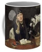 Sven Richard Bergh - The Artist, Julia Beck 1883 Coffee Mug