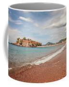 Sveti Stefan Island Iconic Landmark Coffee Mug