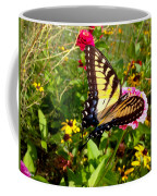 Swallow Tail Butterfly Enjoying The Sunshine Coffee Mug