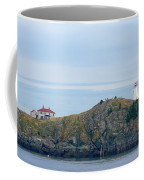 Swallowtail Lighthouse And Keeper Coffee Mug