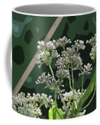 Swamp Milkweed Abstract Coffee Mug
