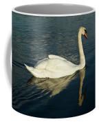 Swan Blasting Away Coffee Mug