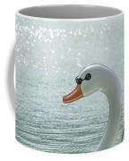 Swan Boat In The Lake Coffee Mug
