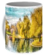Swan Boats Boston Public Garden Coffee Mug