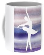Swan Lake Ballerina Silhouette Coffee Mug