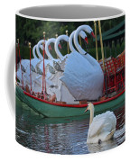 Swan Meeting Up With Some Friends Coffee Mug