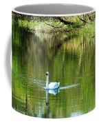 Swan On The Cong River Cong Ireland Coffee Mug