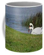 Swan Pair As Photographed Coffee Mug