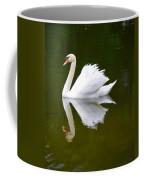 Swan Reflecting Coffee Mug
