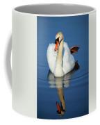Swan Reflection Coffee Mug