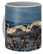 Swan Wings Reach Coffee Mug
