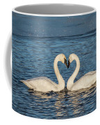 Swan Heart Coffee Mug