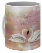 Swan Valentine Coffee Mug