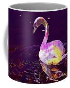 Swan Water Bird Water River  Coffee Mug
