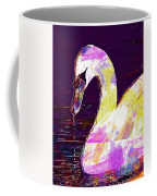 Swan White Water Bird White Swan  Coffee Mug